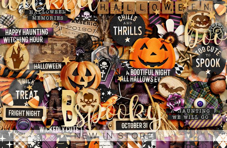 New in store: Halloween Memories