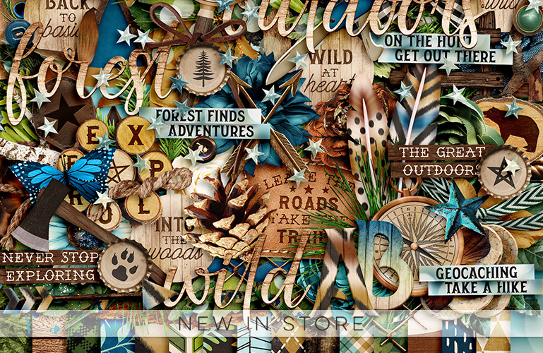 New in store: Outdoor Explorers Forest
